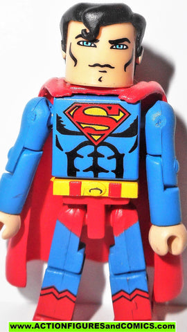 minimates SUPERMAN Series 1 2007 dc universe wave action figure