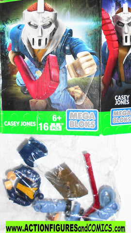 teenage mutant ninja turtles CASEY JONES mega bloks tmnt