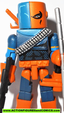 minimates DEATHSTROKE 2007 series 3 teen titans wave blue dc universe