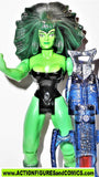 marvel universe toy biz SHE HULK  hall of fame 1997 she force legends fig