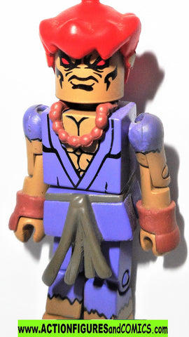 minimates Street Fighter 2 AKUMA marvel capcom video game