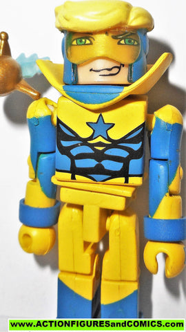 minimates BOOSTER GOLD DC universe 2007 series 2 wave justice league