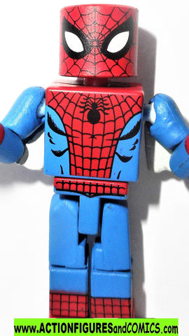 minimates  SPIDER-MAN Web Wings best of series  TRU marvel universe