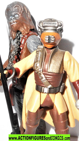 star wars action figures BOUSHH CHEWBACCA return of the jedi cinema scene