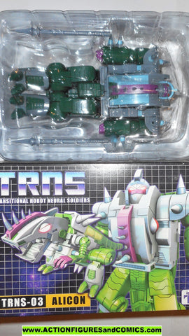 Transformers QUINTESSON ALICON sharcticon Impossible toys 3rd party mib moc