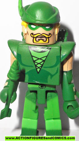 minimates the GREEN ARROW oliver queen dc universe wave 3 series 2007