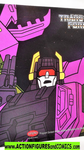 transformers Animation CEL SCORPONOK 2002 Rhino DVD 1985 cartoon g1