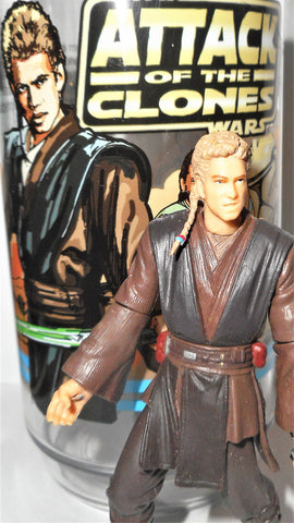 star wars action figures ANAKIN SKYWALKER collector cup 2002 aotc