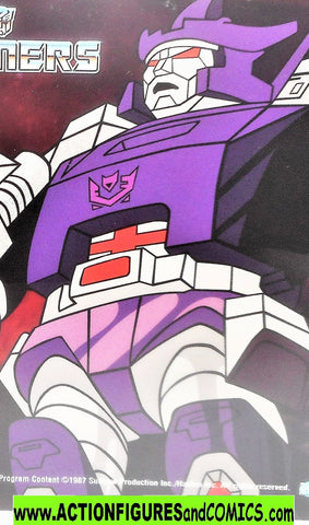transformers Animation GALVATRON 2002 Rhino DVD 1986 movie cartoon g1