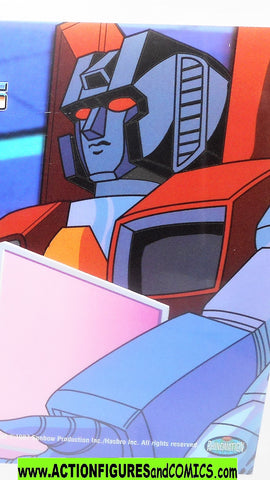 transformers Animation CEL STARSCREAM 2002 Rhino DVD 1985 cartoon g1