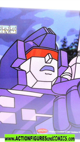 transformers Animation CEL RUMBLE 2002 Rhino DVD 1985 cartoon g1