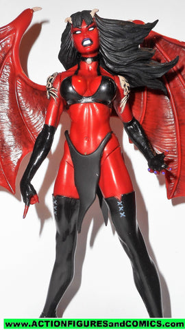 LADY DEATH moore collectibles PURGATORI 1998 6 inch action figure 00