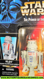 star wars action figures R5-D4 red orange card power of the force 1996 moc