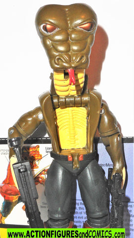 gi joe SLYTHOR 2000 Complete KB Manimals exclusive monster