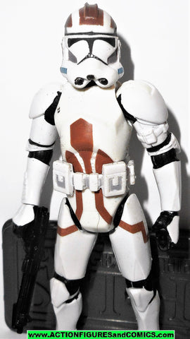 star wars action figures CLONE TROOPER combat engineer 068 2006 Saga