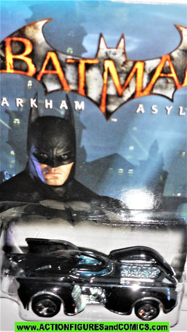 batman hotwheels BATMOBILE Arkham Asylum video game 2011 moc