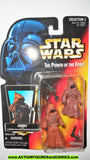 star wars action figures JAWAS JAWA red orange card power of the force 1996 moc