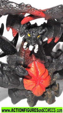 "GODZILLA bandai DESTROYAH aggregate crab 2 inch 2.5"" 2002 pack of destruction figure"
