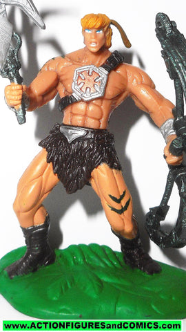 masters of the universe HE-MAN jungle attack mini 2.5 inch 2002 he-man motu