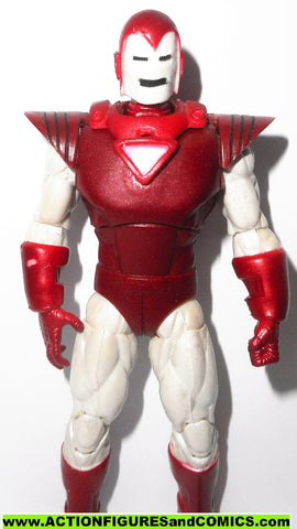 marvel universe IRON MAN silver centurion greatest battles