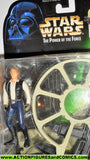 star wars action figures HAN SOLO gunner station millenium falcon moc