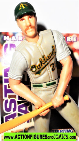Starting Lineup MARK McGWIRE 1996 Oakland Athletics A's sports baseball