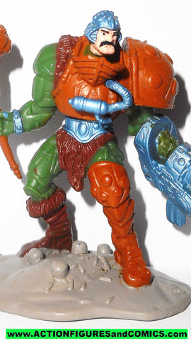 masters of the universe MAN AT ARMS Duncan mini 2.5 inch 2002 he-man motu