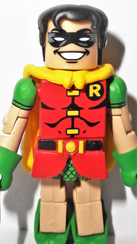 minimates ROBIN 2007 series 2 batman wave blue dc universe