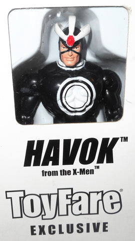 X-MEN X-Force toy biz HAVOK toyfare 1999 marvel universe moc mib
