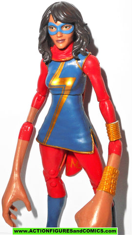 marvel legends MS MARVEL kamala khan spider-man sandman series LONG ARMS fig