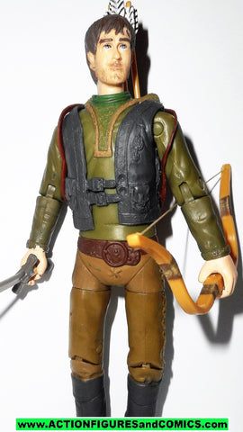 Robin Hood bbc ROBIN HOOD prince of thieves complete 2006 Tiger Aspect toys