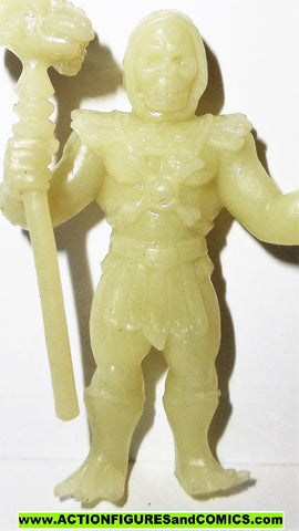 Masters of the Universe SKELETOR Motuscle muscle he-man GLOW in the DARK