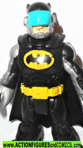 DC imaginext BATMAN batmobile driver fisher price justice league super friends