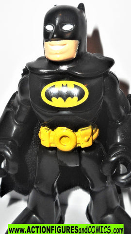 DC imaginext BATMAN black micheal keaton fisher price justice league super friends