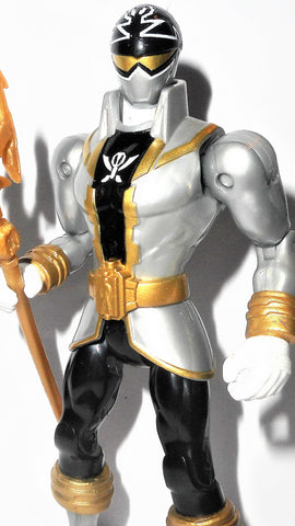 Power Rangers GOLD RANGER 5 inch Megaforce vikar bandai 2018