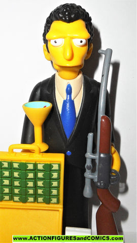 simpsons LOUIE series 14 mob hit man playmates world of