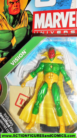 marvel universe VISION series 2 006 6 solid 2009 2010 avengers moc