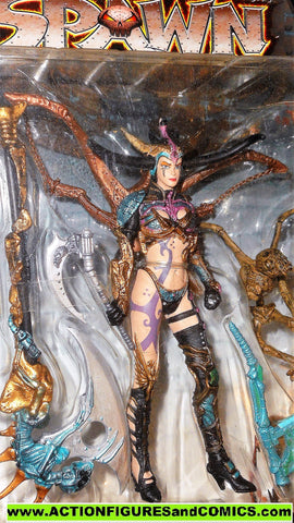 Spawn SKULL QUEEN series 11 Dark ages todd mcfarlane toys moc