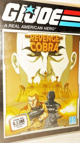 gi joe REVENGE OF COBRA 25th anniversary DVD sealed new 2007