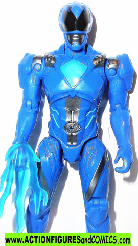 Power Rangers BLUE RANGER 5 inch 2016 Movie complete bandai