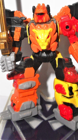 Transformers Titanium PREDAKING predacons action figures 100%