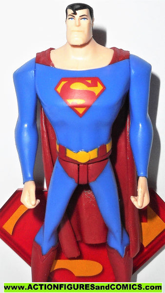 Dc Direct Superman Classic Red Blue Death Of Doomsday Collectibles