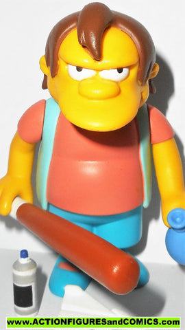 simpsons NELSON playmates world of springfield action figures