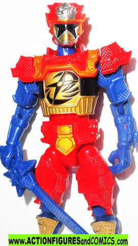 Power Rangers GOLD RANGER Lion Fire Armor 5 inch super ninja steel bandai