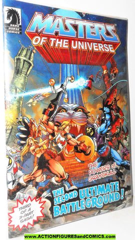 masters of the universe classics SECOND ULTIMATE BATTLEGROUND mini comic