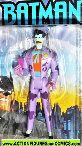 batman animated series JOKER dollar store exclusive dc universe moc