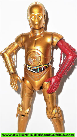 STAR WARS action figures C-3PO Red Arm #29 resistance base The BLACK Series