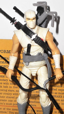 gi joe STORM SHADOW 2009 v30 25th anniversary 5 pack sleeveless complete