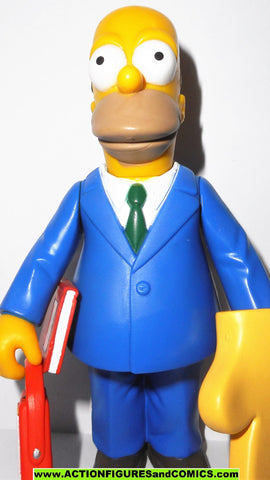 simpsons HOMER SIMPSON church sunday best series 2 2000 2001