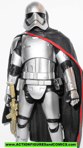 STAR WARS action figures CAPTAIN PHASMA 6 inch THE BLACK SERIES Stormtrooper